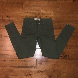 Hollister Jeans  Army green